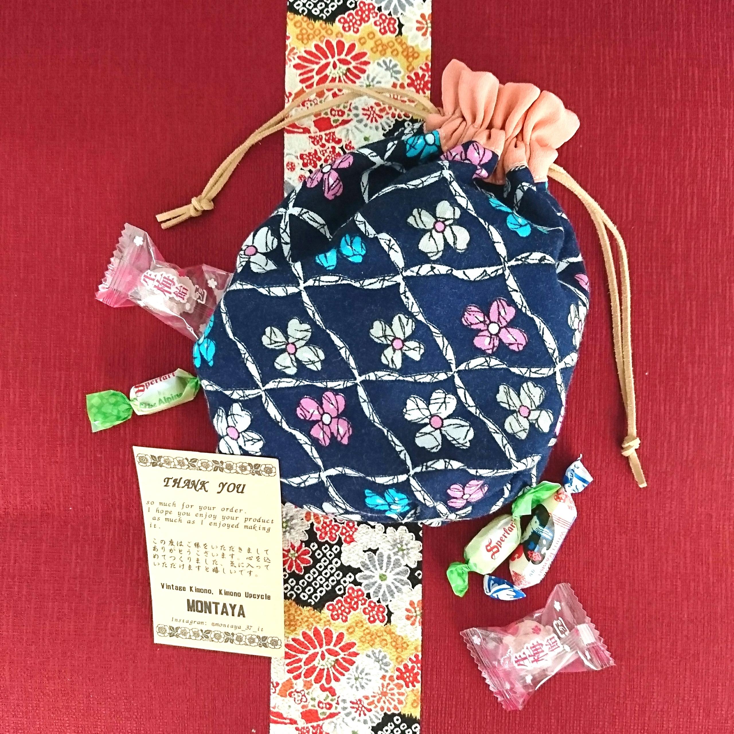 Creare utilizzando vecchi Kimono - Sacchetto caramelle