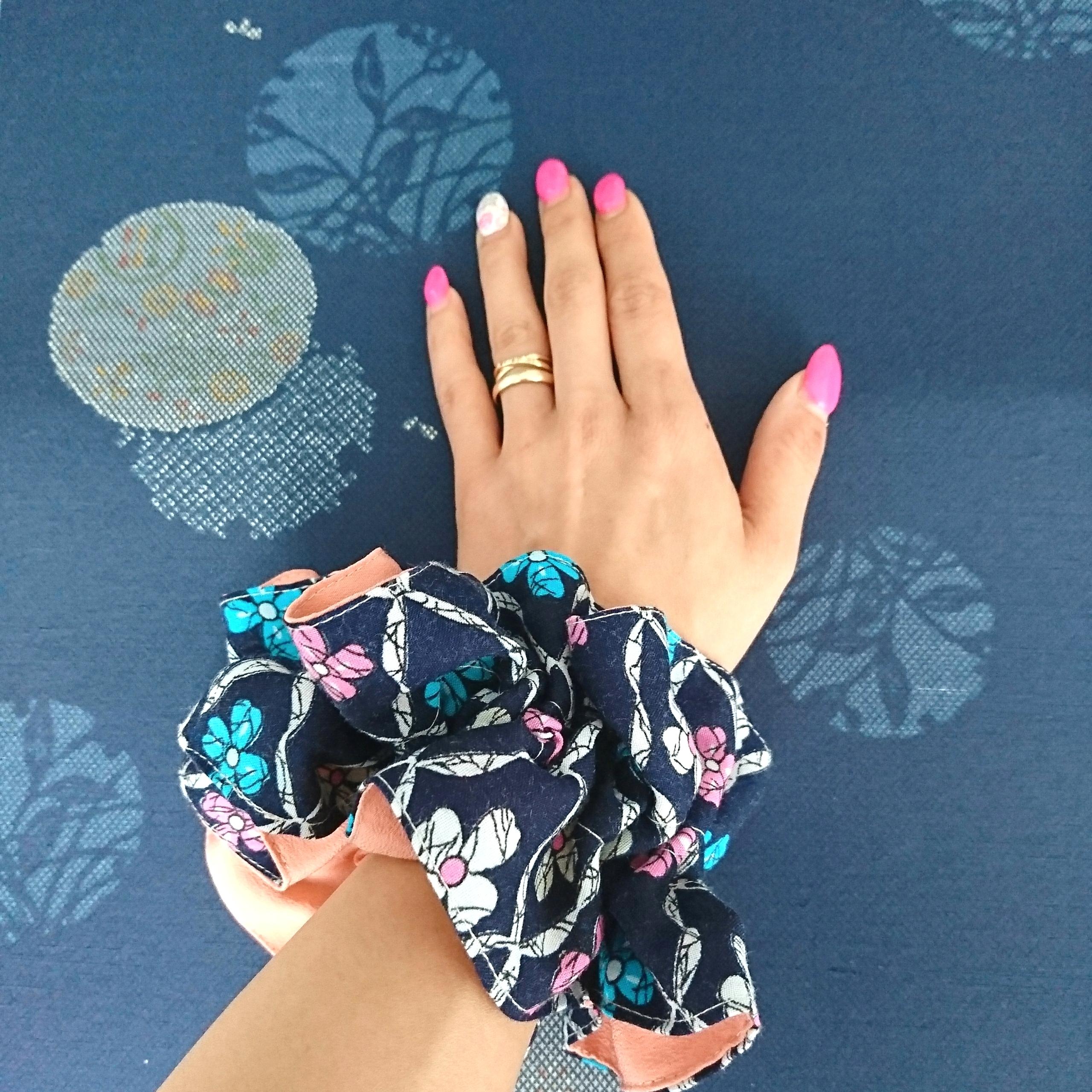 Creare utilizzando vecchi Kimono - Braccialetto
