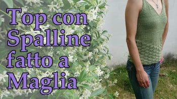 Top con Spalline